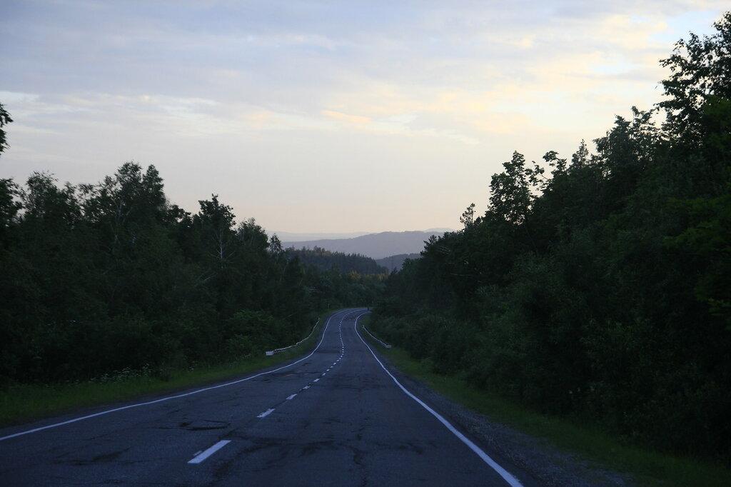 Дорога в Куса