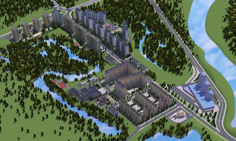 Проект застройки Экоград