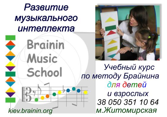 """Метод Брайнина """"Развитие музыкального интеллекта"""""""