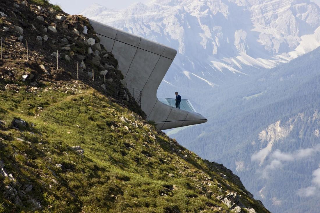 3. Музей, расположенный в Доломитовых Альпах.