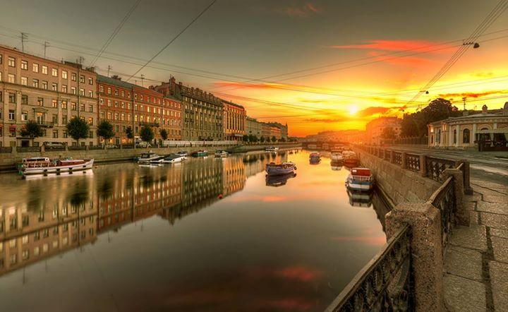 Рассветы и закаты Северной столицы… Восхищайтесь;))