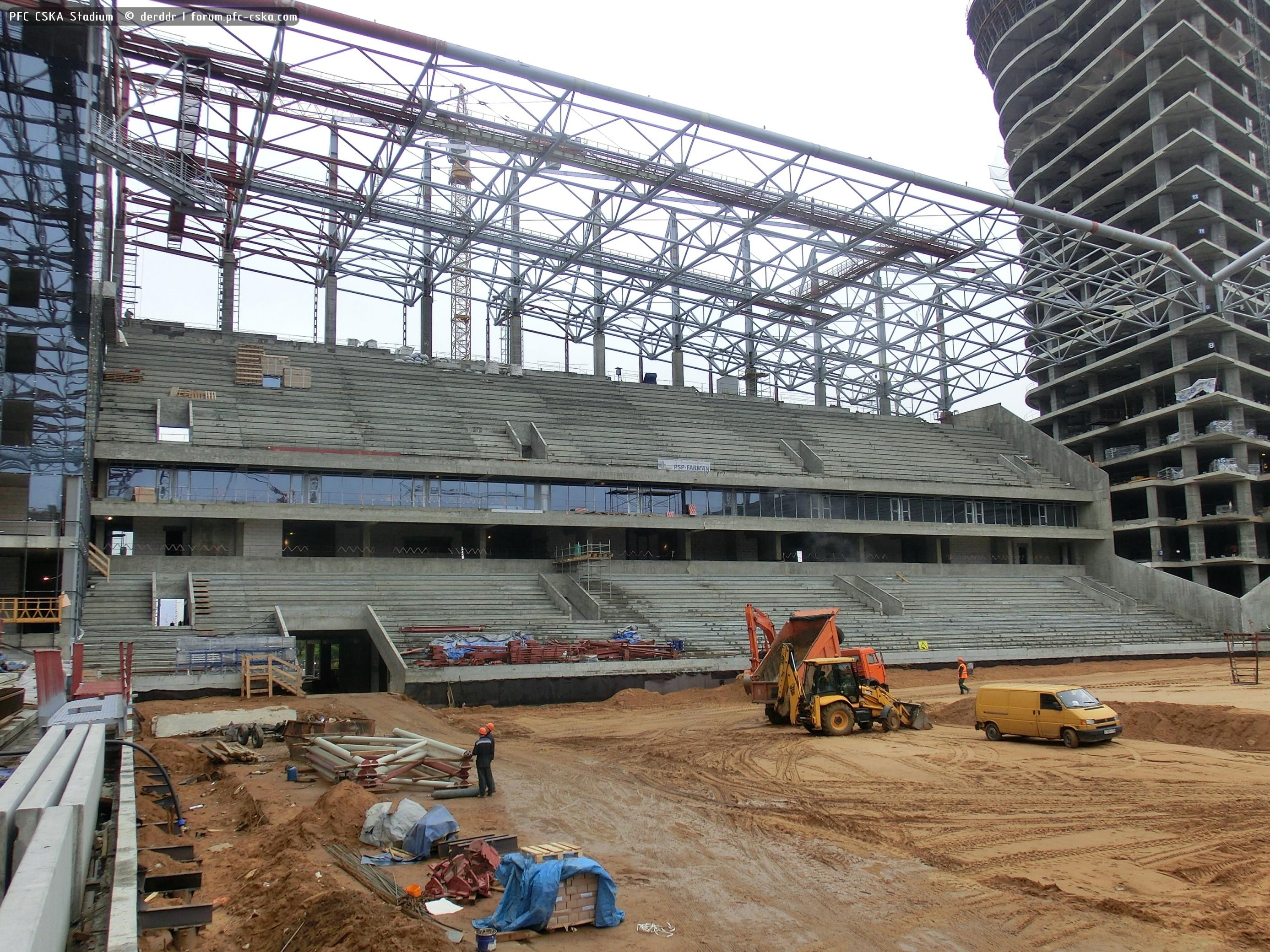 готовность стадиона цска на сегодня фото городе братск категории