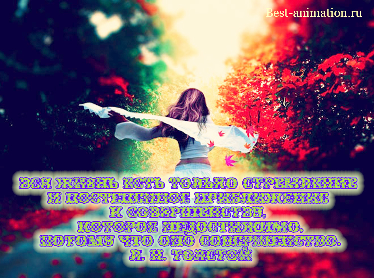 Цитаты великих людей - Что такое жизнь - Вся жизнь есть только стремление и постепенное приближение...