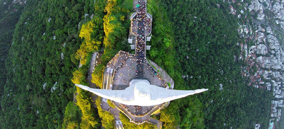Спаситель сверху, в Рио-де-Жанейро, Бразилия