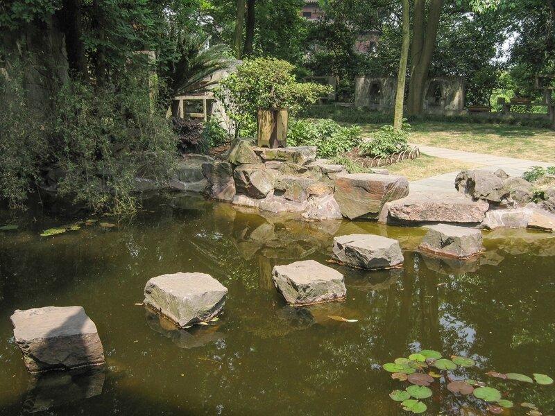 Пруд в саду, Люхэта, Ханчжоу