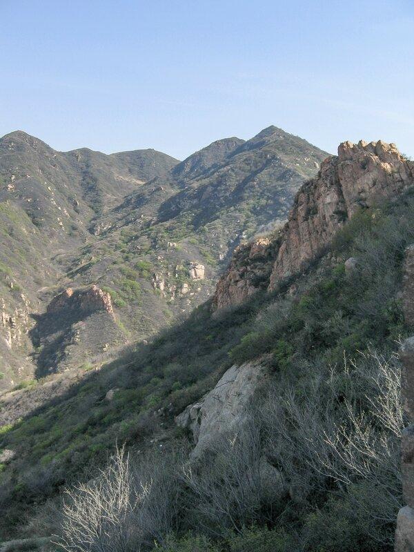 Горы, Великая китайская стена, Бадалин