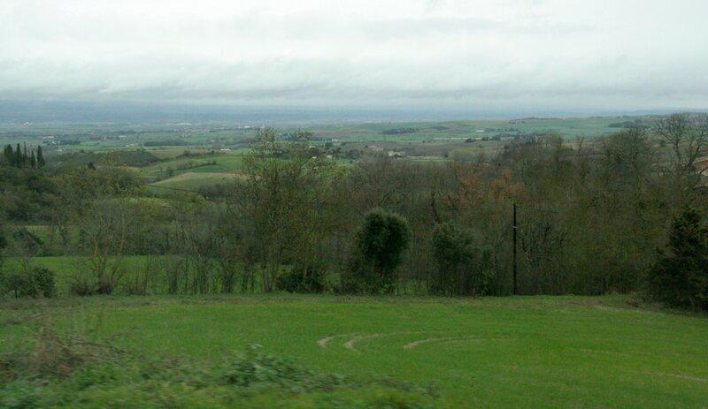 Пейзаж в Лангедоке