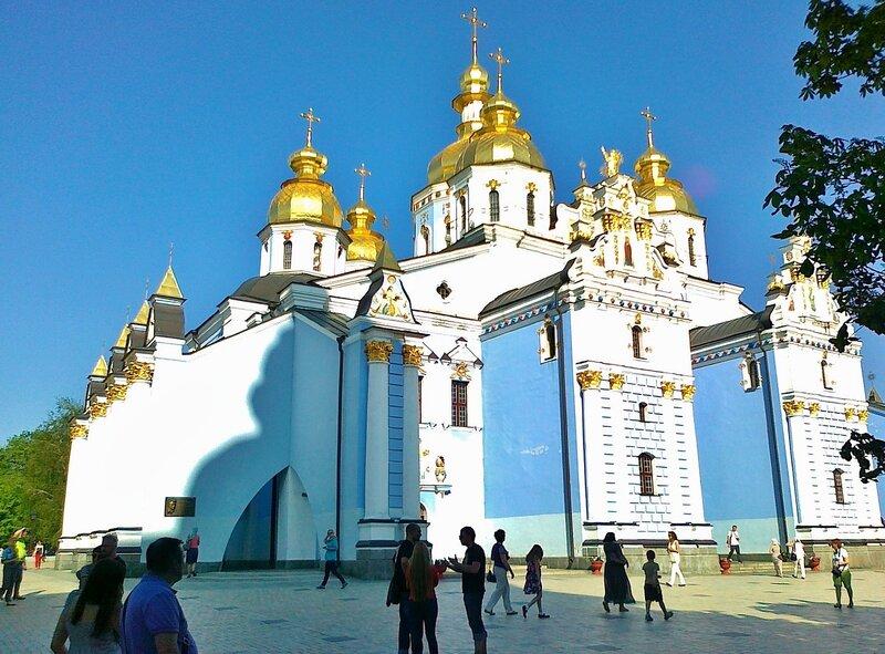 Фасад Михайловского собора