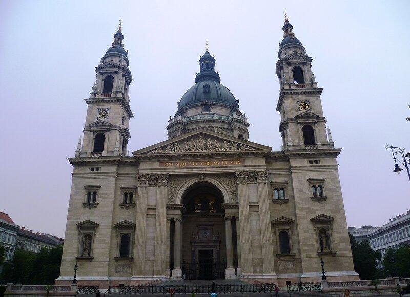 Базилика святого Иштвана в Будапеште (St. Stephen's Basilica in Budapest)