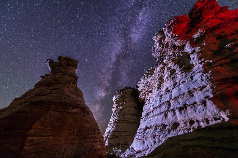 Stunning photos of coralli-coralli.  Utah and Arizona