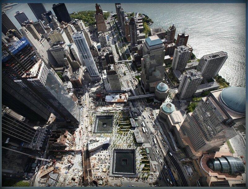 20. Национальный Мемориал 11 сентября(Нью - Йорк, США).JPG