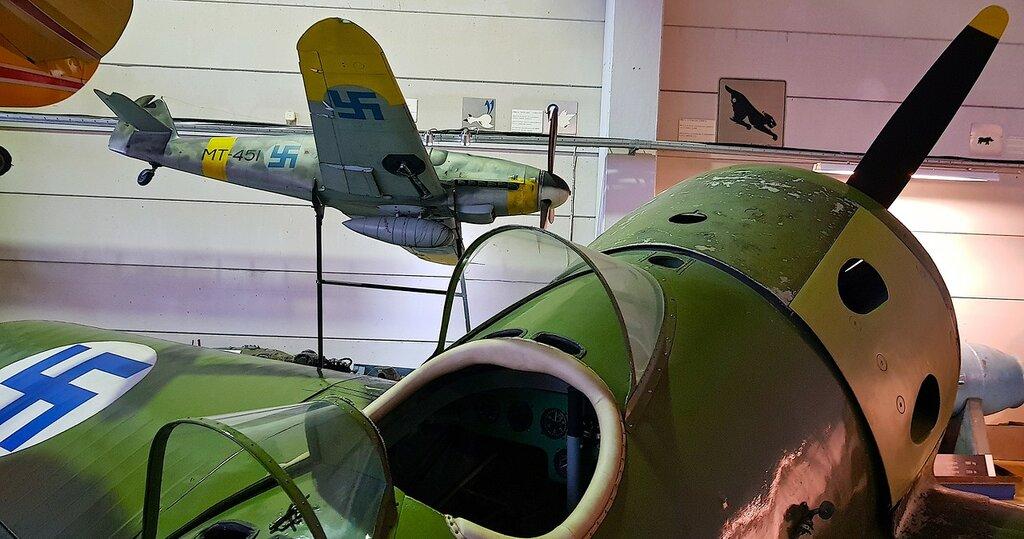Финский музей авиации. И-16 тип 15 (УТИ-4) 02.jpg