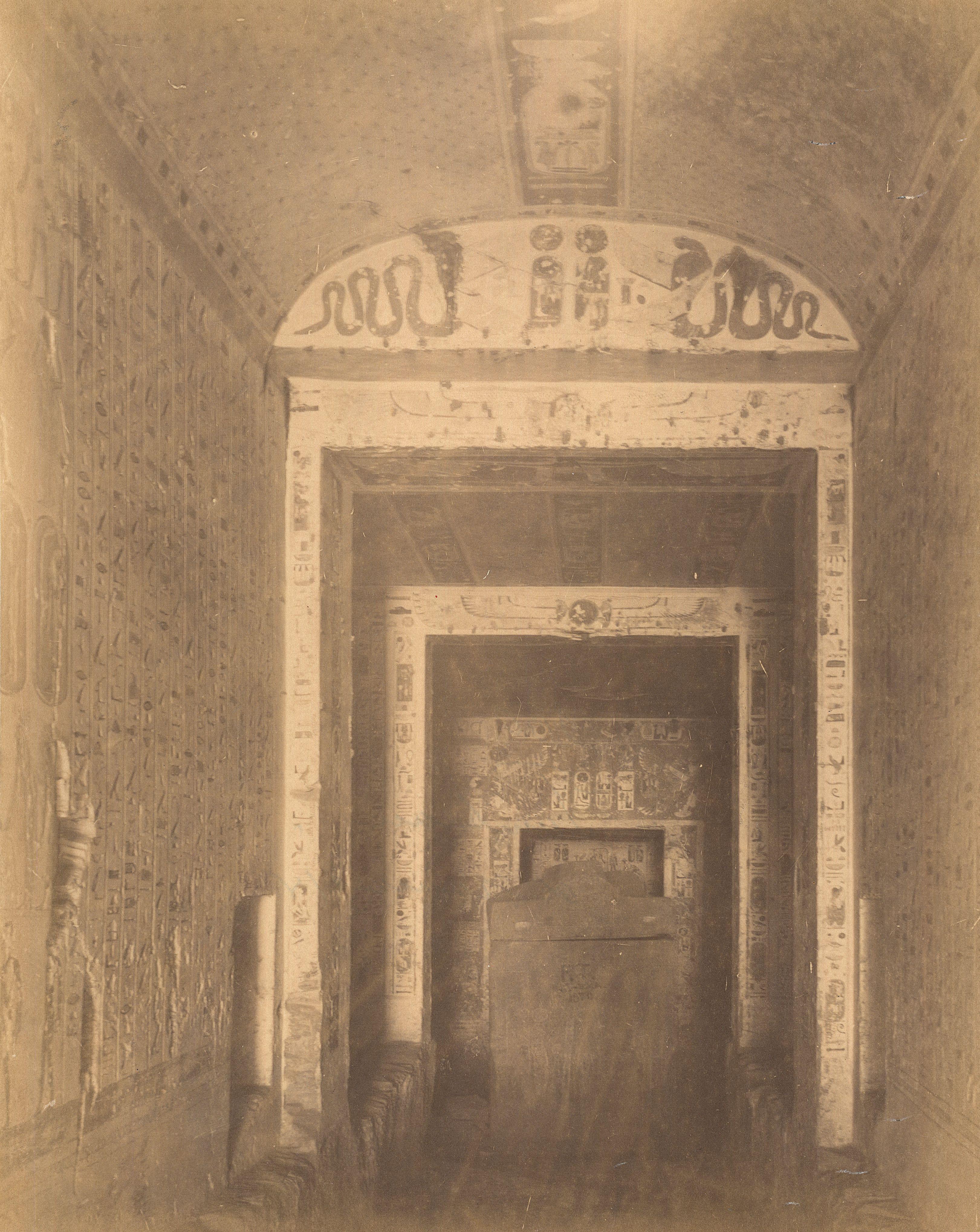 Долина царей. Погребальная камера Рамсеса IV