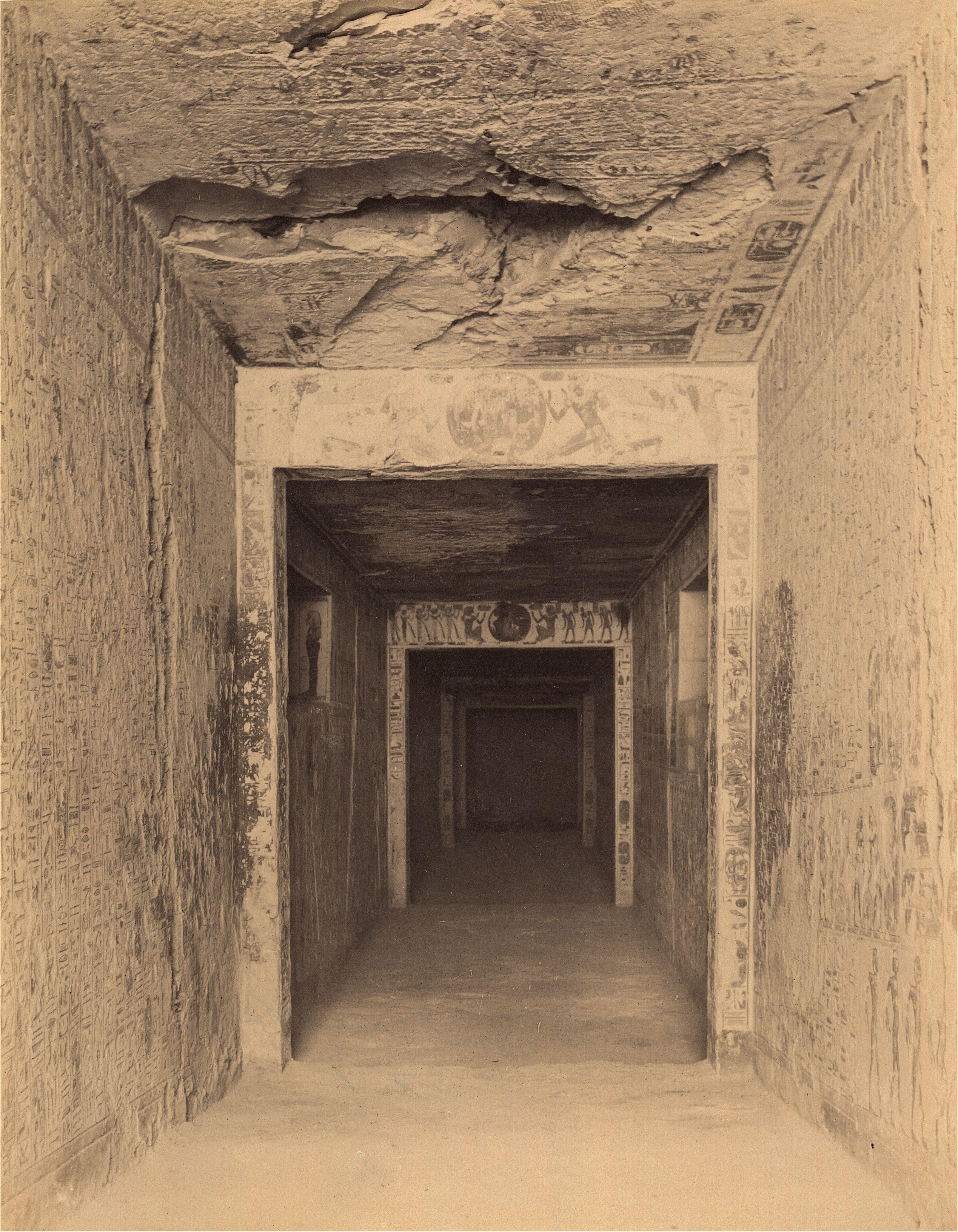 Долина царей. Погребальная камера Рамсеса IX