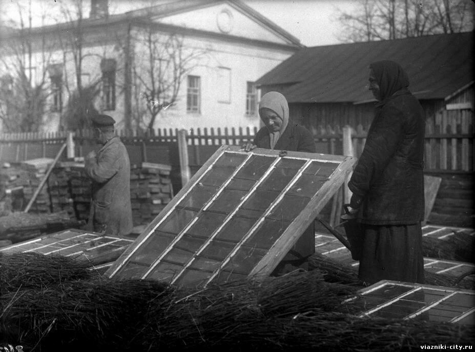 Парники пригородного хозяйства фабрики Свободный пролетарий. 1931