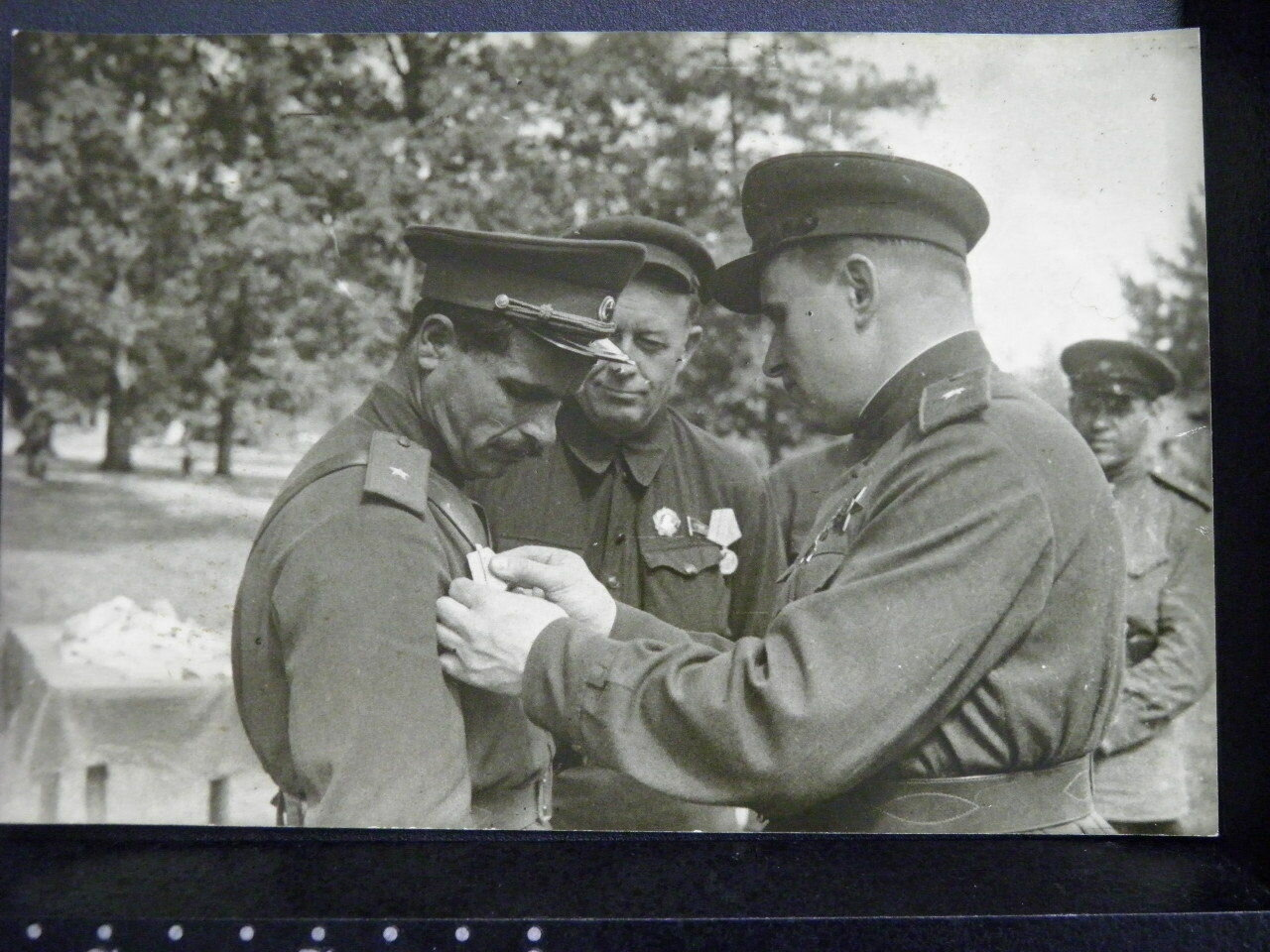 Семён Васильевич Руднев и Каравайченко