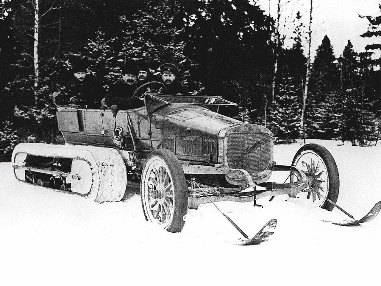 14. Руссо-балт C24-30 из гаража Его Императорского Величества