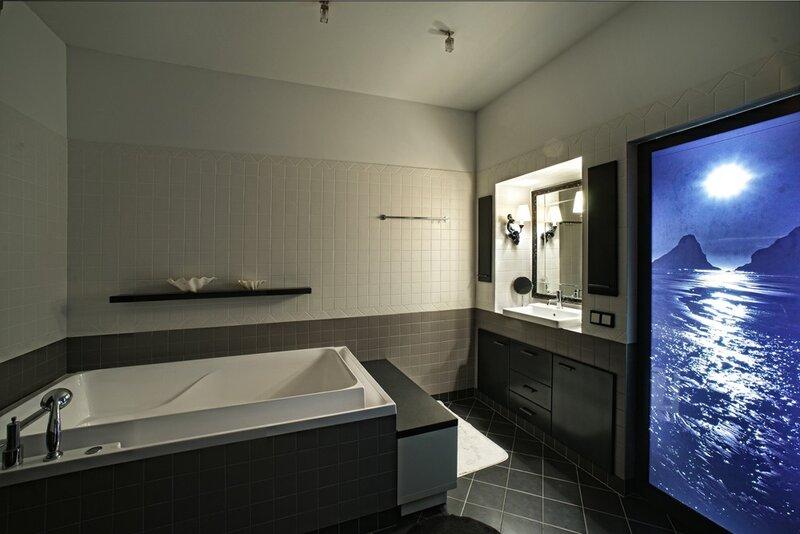 интерьерный фотограф ванной