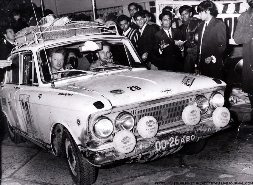Москвич-408 на ралли-марафоне Лондон-Сидней 1968 года, Дели