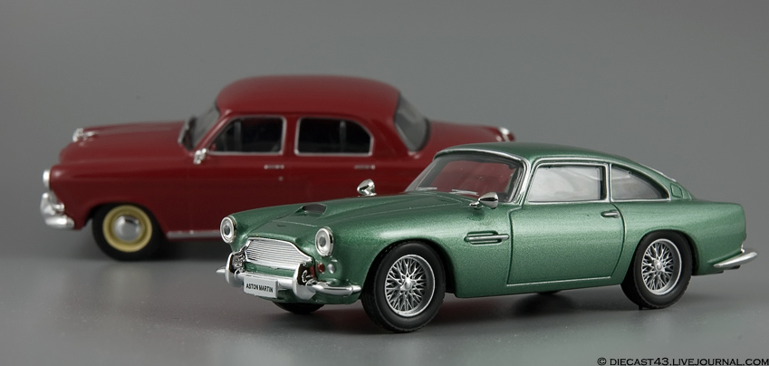"Журнальная серия ""Суперкары"" выпуск номер 2 Aston Martin DB4"