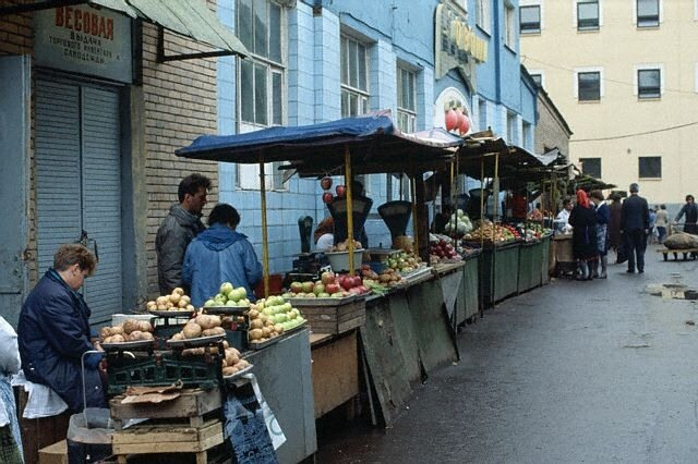 Market in Moscow