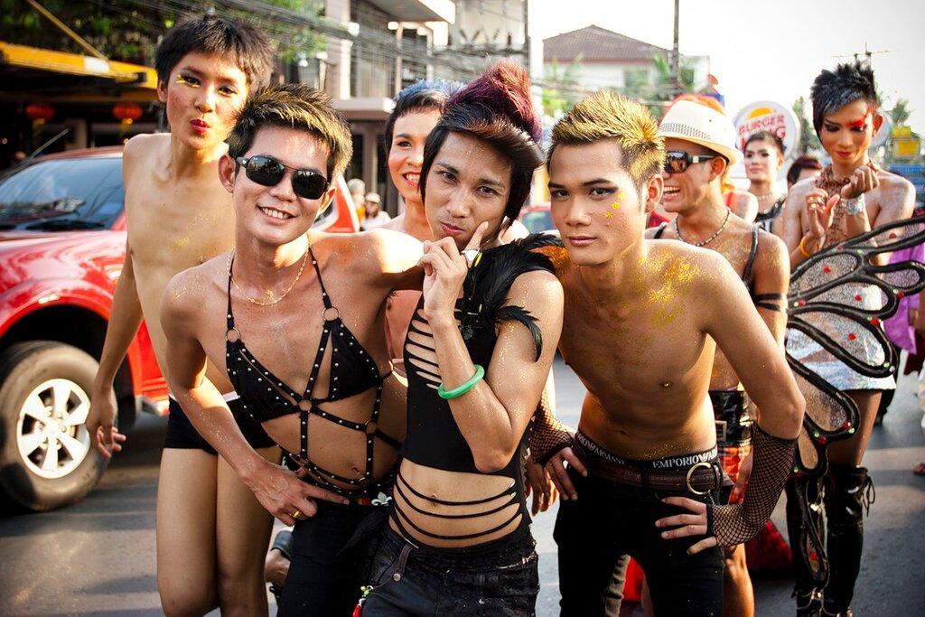 фото женственные геи