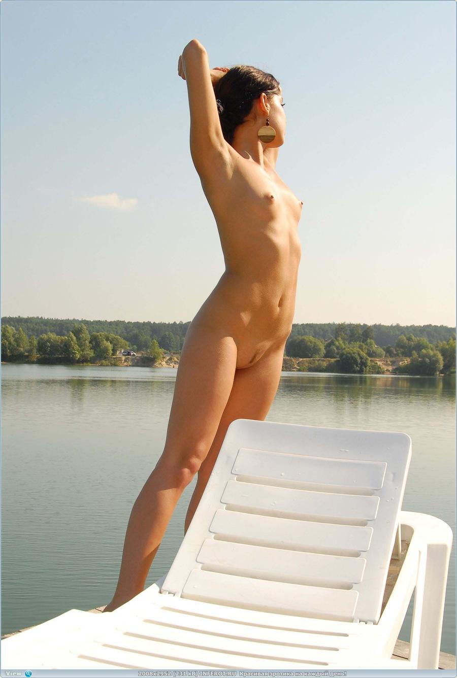 Юленька на утреннем солнце (38 фото)