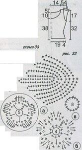 Вязание топов крючком схемы, вязаные модели из мохера.