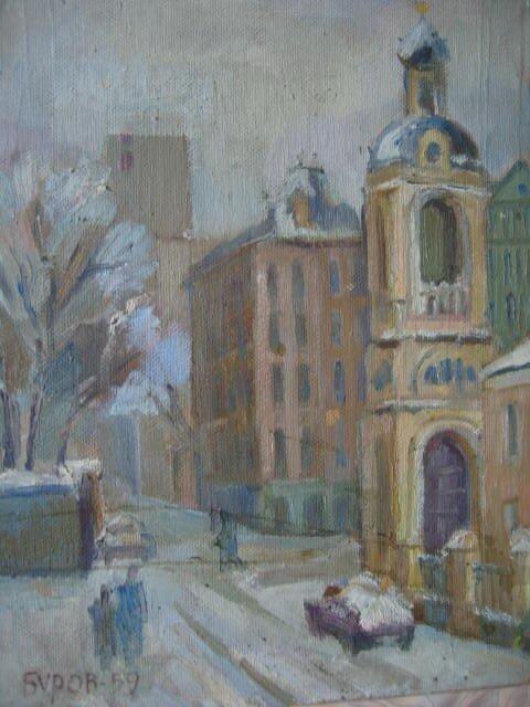 Буров Сергей Павлович (род. 16.10.1925)  Москва. 1959.