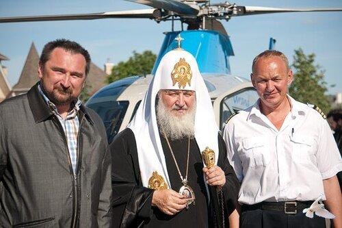 Патриарх Кирилл в Княжьем озере