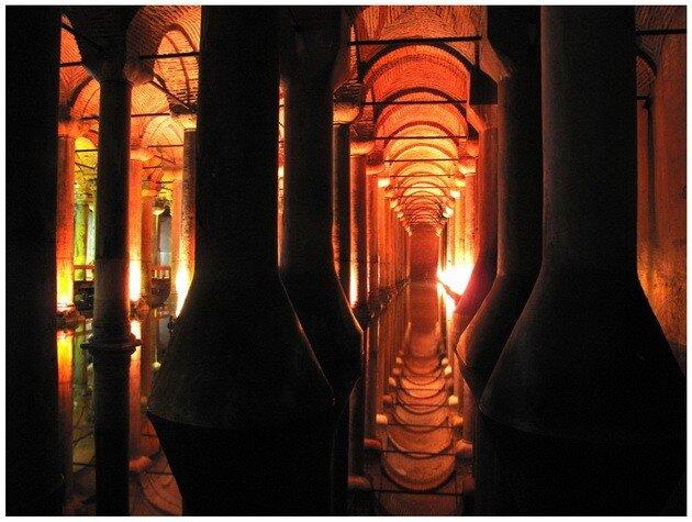 Цистерна Базилика. Стамбул