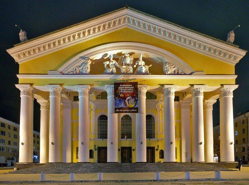 Калужский драматический театр.
