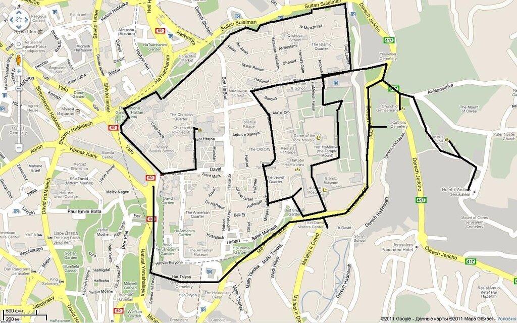 Иерусалим за один день