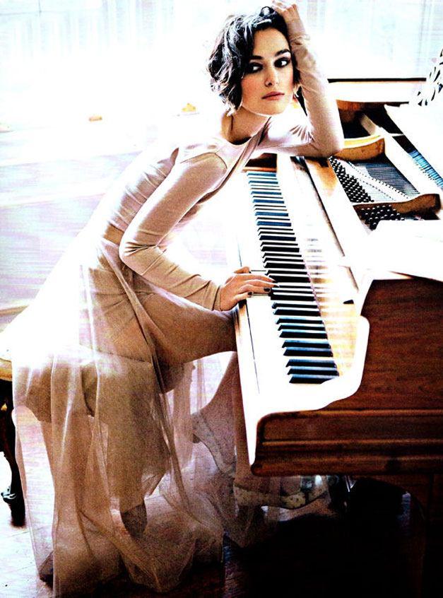 модель Кейра Найтли / Keira Knightley, фотограф Ellen von Unwerth