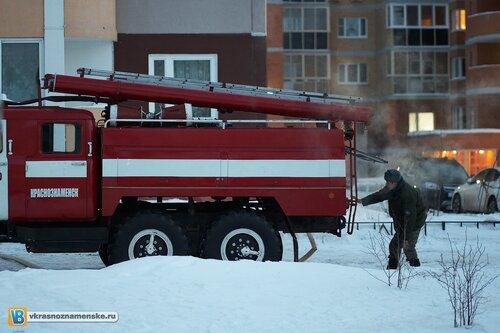 2011.02.14 - Пожар на ул. победа д24