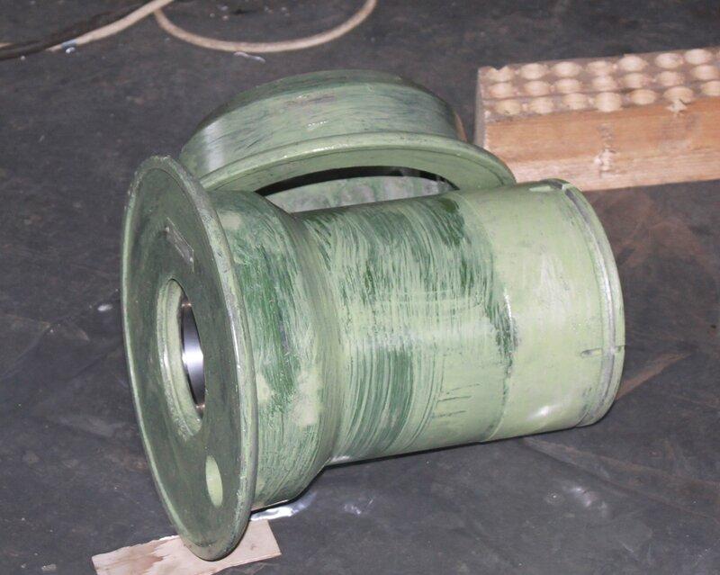 загрунтованный диск носового колеса Ил-14Т