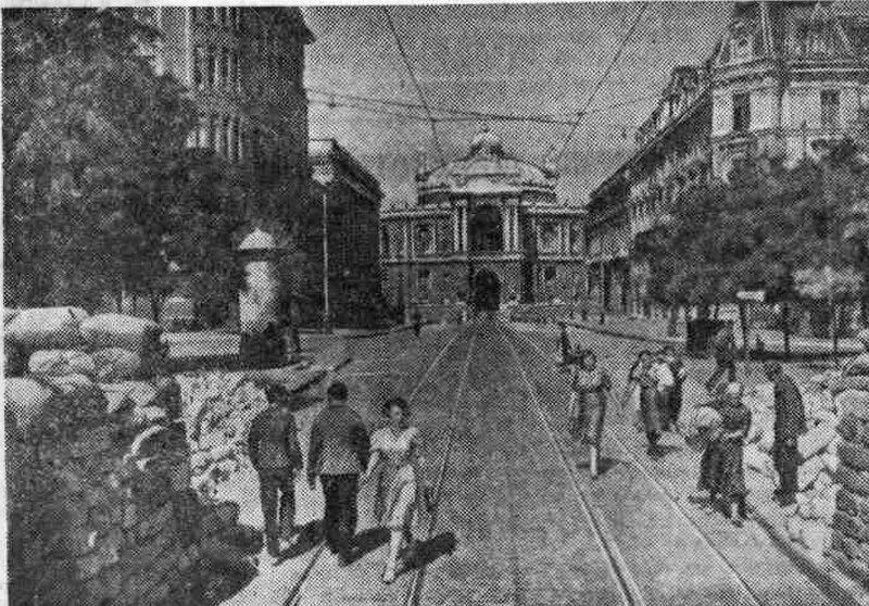 оборона Одессы, оккупация Одессы