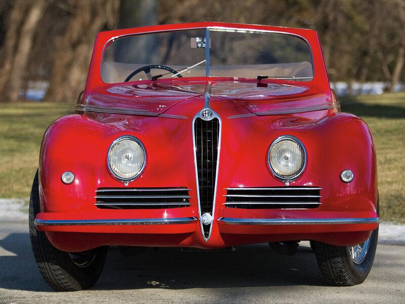 Альфа Ромео 6C 2500 Спорт Кабриолет '1942
