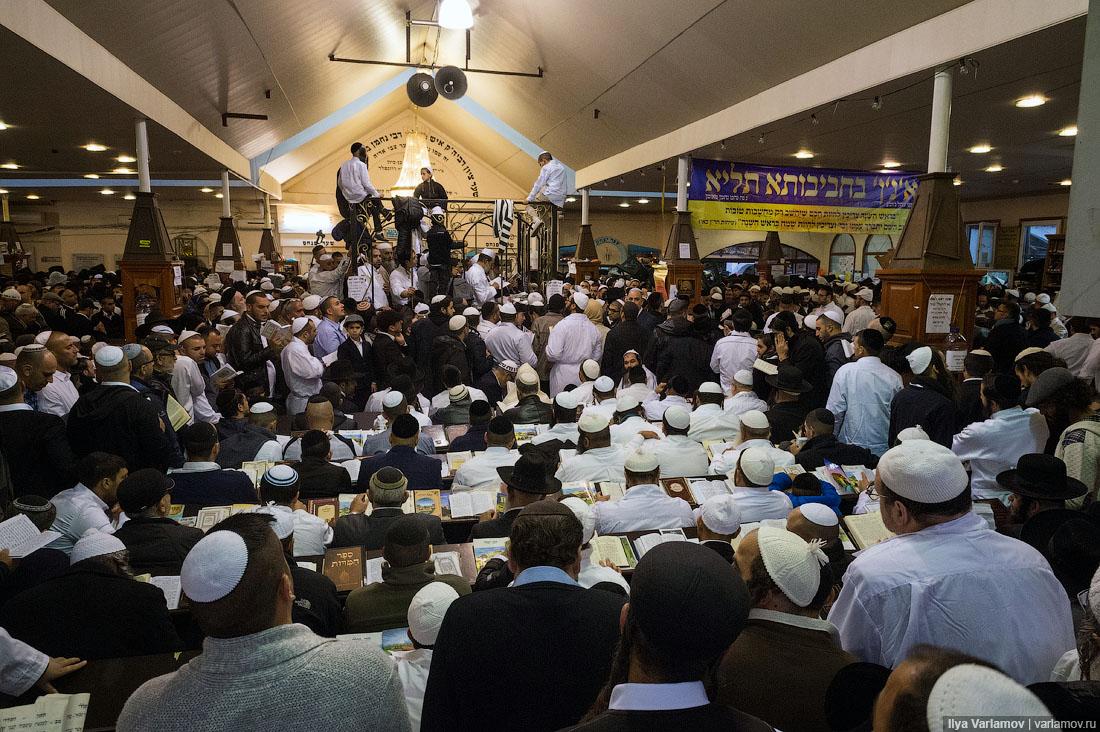 Новый Год хасидов в Умани