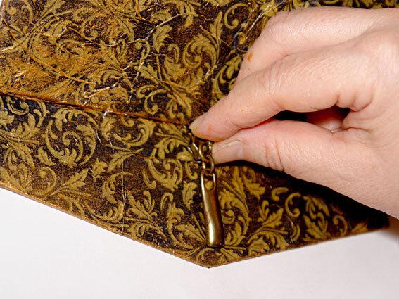 Шкатулка из упаковки (декупаж)    своими руками