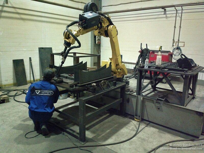 Робот для лазерной сварки