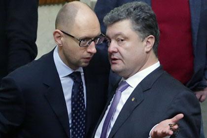 Порошенко иЯценюк продали депутатские креслаВР замиллионы долларов
