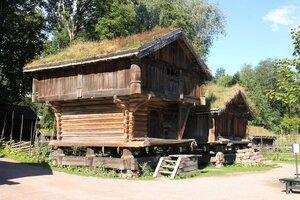 Oslo,Bygdøy, norwegian folk museum, Осло, Бюгдой, Норвежский этнографический музей