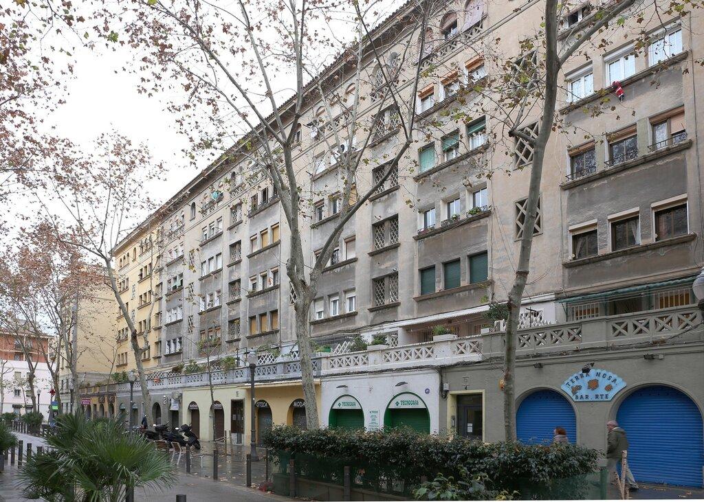 Барселонета. Улица адмирала Чуррука (Carrer de l'Almirall Churruca)