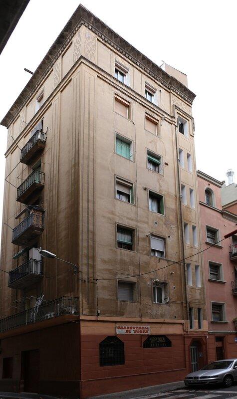Барселонета. Улица Святого Карлоса (Carrer de Sant Carles)