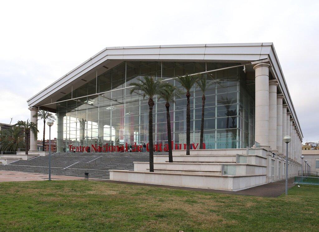 Барселона. Национальный театр Каталонии (Teatre Nacional de Catalunya)