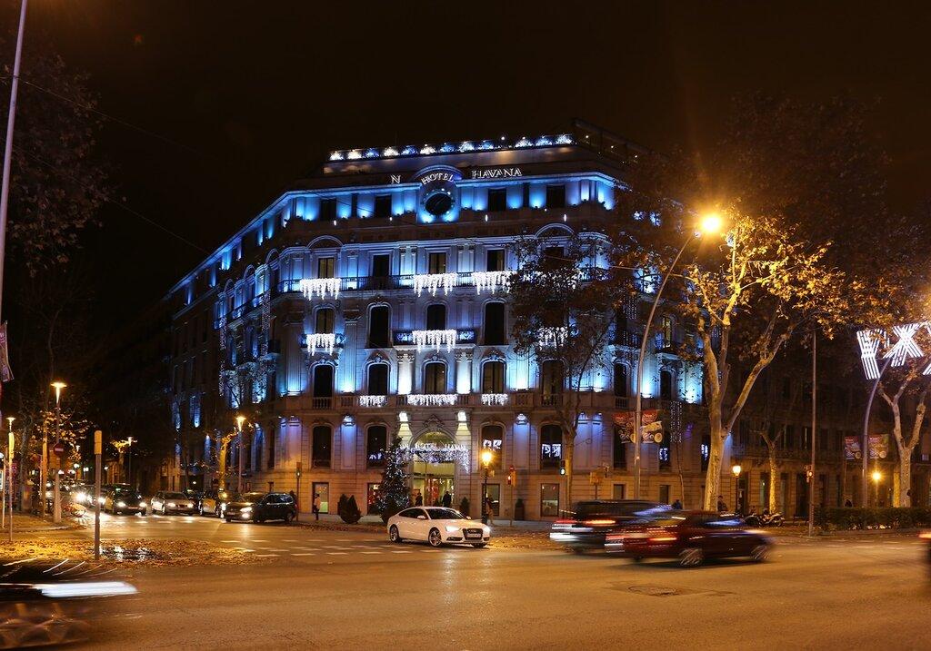 Barcelona. Gran via (Gran Via de les Corts Catalanes)