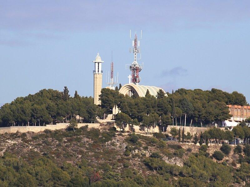 Таррагона.  Лоретанская церковь. Ermita del Llorito, Tarragona