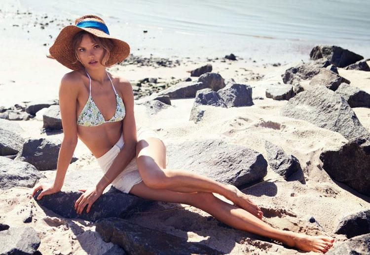 Магдалена Фраковяк в июньском Vogue Turkey 2014