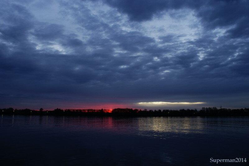 Рассвет в Ярославле